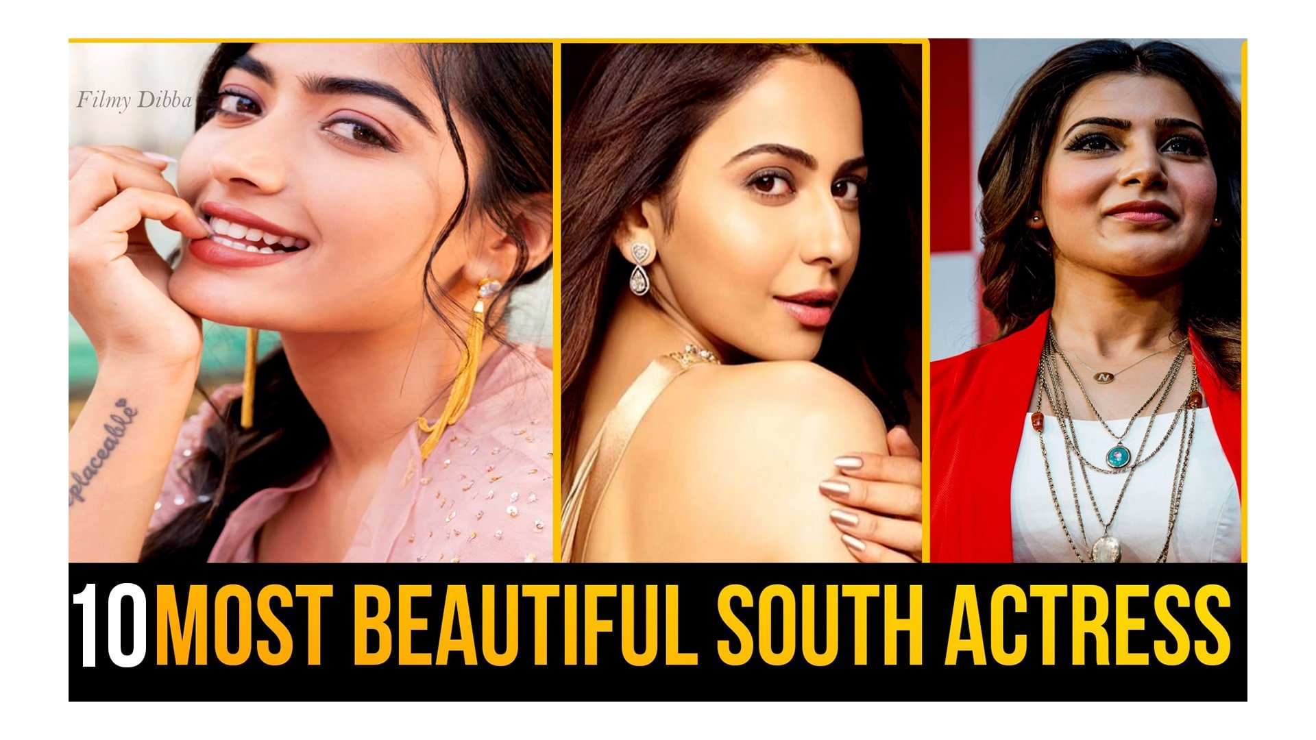 Most Beautiful & Trending Actress in South Indian industry